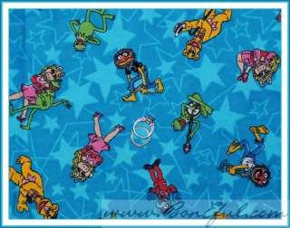 BOOAK Fabric Sesame Street Abby Cadabby Flannel Princess Baby Pink