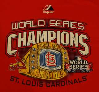 St. Louis Cardinals 2011 World Series Champions Crew Neck Sweatshirt