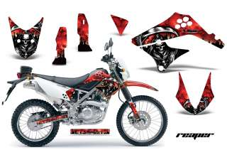 AMR RACING DIRT BIKE MOTORCYCLE DECALS KAWASAKI D TRACKER KLX 125 10