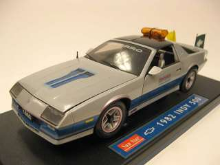 1982 Camaro Z28 Indy 500 Pace Car Diecast 118 Model by Sun Star