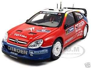 CITROEN XSARA WRC #3 S.LOEB D.ELENA 1/18 2004 CHAMP