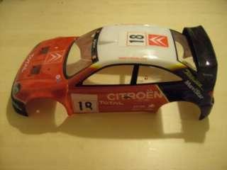 GP2/3 Nitro Racer   Citroen Xsara WRC Body Brand New 1/10th