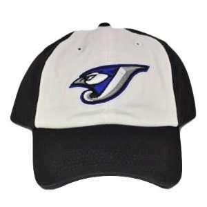 MLB GARMENT WASH TORONTO BLUE JAYS HAT CAP WHITE BLACK