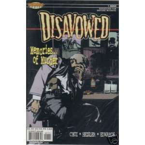 : Disavowed #1: Brandon Choi, Mike Heisler, Tommy Lee Edwards: Books