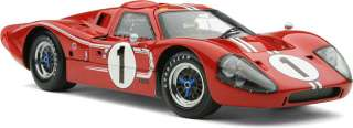 Exoto 1/18 Ford GT40 Mk IV #1 Winner, 1967 Dan Gurney, A.J. Foyt