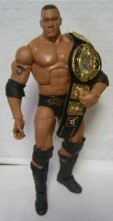 World action figure belt PAINTED the Rock Stone Cold Mattel WWE