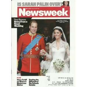 Royal Wedding Is Sarah Palin Over: Editor in Chief Tina Brown: Books