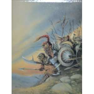 : Achilleos Art Trading Card Series 1: Orc Charge #3 (Chris Achilleos