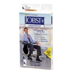 Jobst Socks Mens Dress Knee High 8 15mm Navy (110785) MED