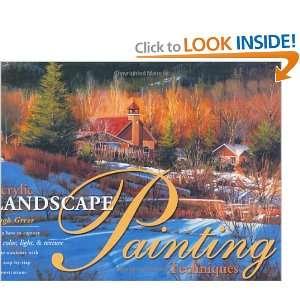 Acrylic Landscape Painting Techniques (9781581800630