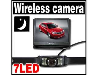 CAR 3.5 WIRELESS MONITOR SYSTEM KIT WITH BACKUP CAMERA