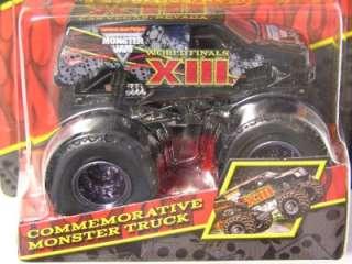 Hot Wheels Monster Jam 2012 WORLD FINALS XIII COMMEMORATIVE Limited