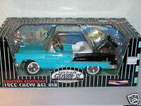 GearBox 124 Blue 55 Chevy Bel Air Pedal Car 1/ 5004