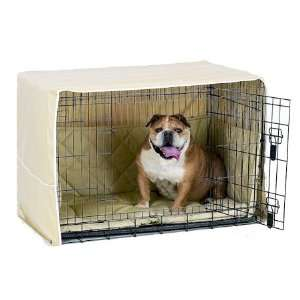 Side Door Dog Crate Cover   Extra Large/Khaki Pet