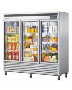 NEW Turbo Air 3 Doors Commercial Refrigerator MSR 72G 3