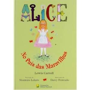 Alice No Pais Da Maravilhas   Alice in Wonderland  Book in