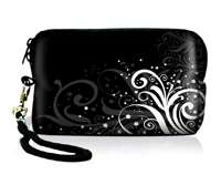 Butterfly Digital Camera Case Bag Pouch+Strap for Nikon S3000 S4000