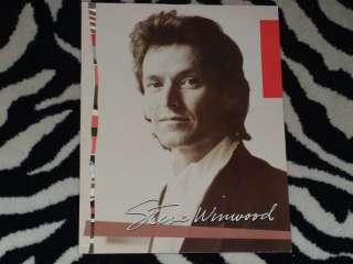 STEVE WINWOOD Tour Book 1986 Concert Program HIGH LIFE