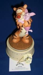 Pooh & Friends Huggerific Tigger Piglet Music Box