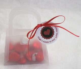 12 DIY Valentines Day Personalized Handbag Favor Kits