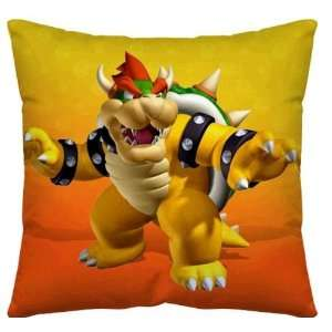 Super Mario Bowser Pillow approx 14