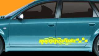 SGRF199 RACING FLAGS DECALS WITH YOUR TEXT FOR DAEWOO