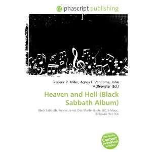 Heaven and Hell (Black Sabbath Album) (9786134269995