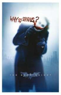 BATMAN Dark Knight POSTER Why So Serious? Heath LEDGER