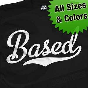 Based Baseball T Shirt Lil B Thank You God Stay Rare
