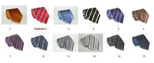LOT OF 5 SOLADE HAND MADE 100% SILK NECK TIE DIFFERENT DESIGNS & HIGH