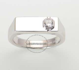 on Fire 18K White Gold & Diamond Mens Commanding Dream Ring