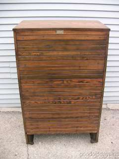 Antique Refinished Oak Ice Box Chest