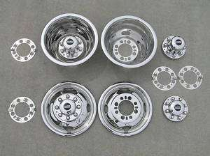 16 16.5 83 84 85 CHEVY GMC Dually Wheel Simulators