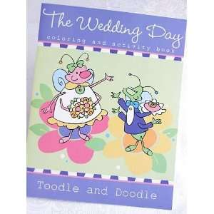 and Doodle Wedding Day Coloring and Activity Book