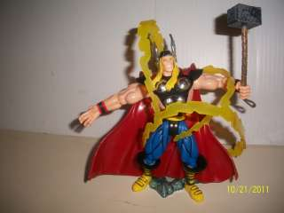 MARVEL ACTION FIGURES 4 TOY BIZ THOR THE HULK ABOMINATION ABSORBING