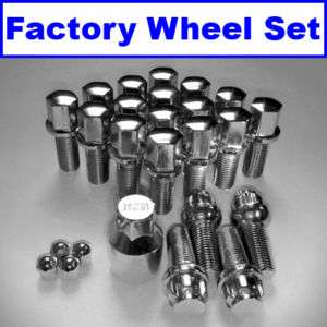 Audi A3 A4 A5 A6 A8 R8 TT Wheel Locks Lug Bolts 14X1.5