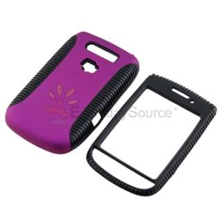 Dual Flex Hard Case Gel Cover for BlackBerry Torch 9800 9810