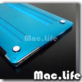 AQUA BLUE Crystal Hard Case Cover for Macbook Air 13