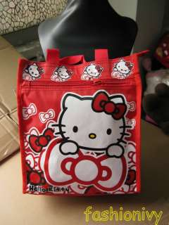 Hello kitty canvas Lunch box bag new