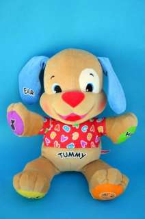 Laugh Learn Fisher Price Plush Talking Sing Puppy Dog