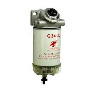 Griffin GP341 30 Spin On Fuel Filter / Water Separator Automotive