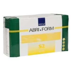 Abena Abri Form S2 Adult Diapers   Case of 84 (24 34