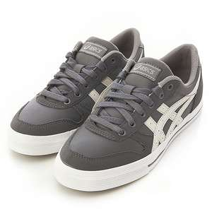 Brand New ASICS AARON Grey Shoes Smoked Pearl / Light Grey #38