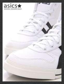 Brand New ASICS AARON MT CV Shoes White/Black #99