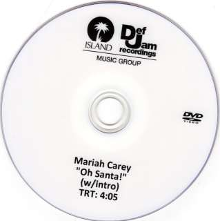 MARIAH CAREY OH SANTA OFFICIAL MUSIC VIDEO (W/LONG INTRO) 1TRK US