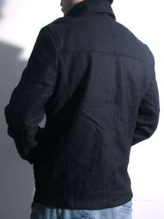 NWT Premium M 65 Style Black Wool Jacket Coat S XL