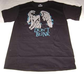 DOCTOR WHO WEEPING ANGEL STATUE T SHIRT MENS XL X LARGE NEW DONT
