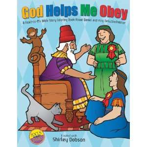 God Helps Me Obey Coloring Book (9780830738939) Shirley Dobson Books