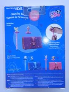 New Nintendo DS Lite/DSI Littlest Pet Shop Case w/ Stylus