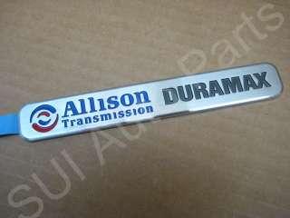 Chevy Allison Transmission Factory Emblem Duramax Truck OEM (C80 3z